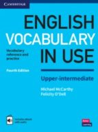 english vocabulary in use (4th edition) upper intermediate book with answers & enhanced ebook 9781316631744