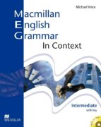 macmillan english grammar in context intermediate without key and cd rom pack 9781405071444