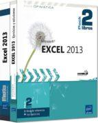 excel 2013: pack 2 libros-pierre rigollet-9782746092044