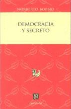 democracia y secreto norberto bobbio 9786071615244