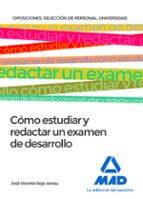 cómo estudiar y redactar un examen de desarrollo-9788414209844