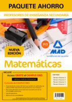 paquete ahorro matemáticas cuerpo de profesores de enseñanza secu ndaria 9788414214244