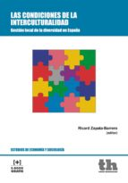 las condiciones de la interculturalidad (ebook) ricard zapata barrero 9788416062744
