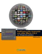 aprender postproduccion avanzada con after effects-9788426718044