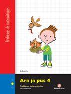 ara ja puc 3º 4º primaria quadern 4 problemes matematiques catala 9788430705344