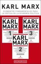 grundrisse: elementos fundamentales para la critica de economia politica karl marx 9788432302244