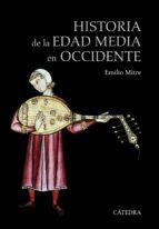 historia de la edad media en occidente (5ª ed.)-emilio mitre fernandez-9788437634944