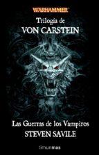 las guerras de los vampiros (trilogia de von carstein)-steven savile-9788448039844