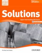 solutions upper-intermediate workbook  & cd pk 2 ed-9788467382044