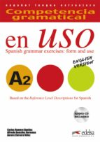 competencia gramatical en uso a2 (english version) carlos romero dueñas 9788477112044