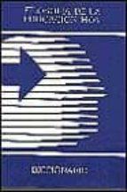 filosofia de la educacion hoy:  diccionario filosofico pedagogico 9788481552744