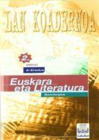 euskara eta literatura 2dbho lan koadernoa-alberto y otros ugarte-9788483253144