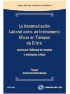 la intermediacion laboral como un instrumento-maria del mar alarcon castellano-9788483559444