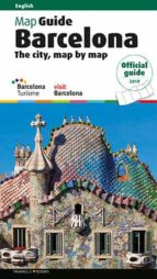 barcelona: the city, map by map. practical guide (ingles)-llatzer moix puig-josep liz-9788484787044