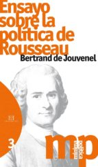 ensayo sobre la politica de rousseau bertrand de jouvenel 9788490550144