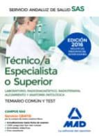 temario comun tecnic@ especialista o superior y test 9788490939444
