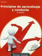 principios de aprendizaje y conducta michael domjan pdf
