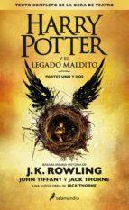 harry potter y el legado maldito j.k. rowling 9788498387544