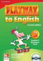 playway to english (2nd ed.): teacher s resource pack (nivel 3)-günther gerngross-herbert puchta-9780521131254