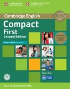 compact first second edition student s book pack (student s book with answers with cd-rom and class audio cds(2))-9781107428454