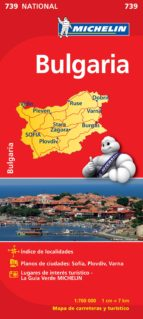 mapa bulgaria 2012 9782067174054