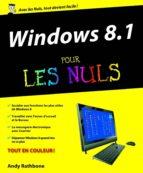 windows 8.1 pour les nuls (ebook)-andy rathbone-9782754056854