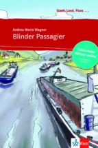 blinder passagier   libro + audio descargable (stadt, land, fluss ) (nivel a1) 9783125570054