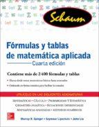 fórmulas y tabla de matemática aplicada-9786071511454