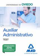 escala de auxiliares administrativos de la universidad de oviedo: test 9788414203354