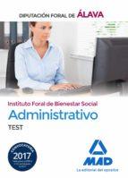 administrativo del instituto foral de bienestar social de la diputación foral de álava. test-9788414208854