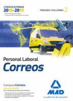 personal laboral de correos y telegrafos: temario (vol. 2) 9788414214954