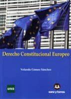 derecho constitucional europeo yolanda gomez sanchez 9788415550754