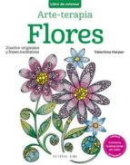 flores (arte-terapia: libro de colorear)-valentina harper-9788415618454