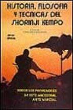 historia, filosofia y tecnicas del shorinji kempo-javier brieva-9788420301754