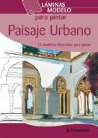 laminas modelos para pintar paisaje urbano-9788434228054