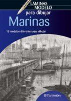 marinas: laminas modelo para dibujar 9788434236554