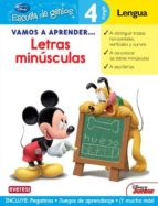 vamos a aprender letras minusculas (escuela de genios)-9788444146454