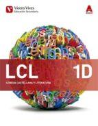 lcl 1d. lengua castellana y literatura. diversidad. (aula 3d) 1º eso general lengua/literatura castellano-9788468232454