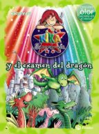 kika superbruja y el examen del dragon (ed. color)-9788469622254