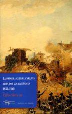 la primera guerra carlista vista por los britanicos, 1833 1840 carlos santacara 9788477742654