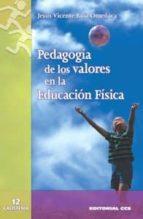 pedagogia de los valores en la educacion fisica-jesus vicente ruiz omeñaca-9788483167854