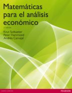 matematicas para el analisis economico-peter hammond-9788483223154