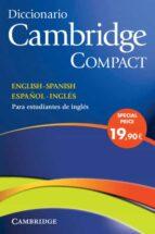 diccionario bilingüe cambridge spanish-english compact edition ( incluye cd-rom)-9788483234754