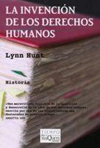 la invencion de los derechos humanos-lynn hunt-9788483831854