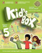 kid s box ess 5 2ed updated pb 9788490366554