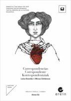 correspondencias / corespondente / korrespondentziak (ed. trilingüe euskera rumano castellano) luisa etxenike mircea cartarescu 9788491091554