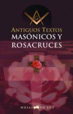 antiguos textos masónicos y rosacruces (ebook)-9788496595354