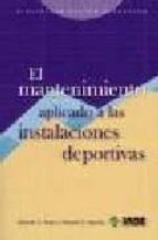 mantenimiento aplicado a las instalaciones deportivas-g. parejo eduardo-9788497290654