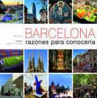 (pe) barcelona, razones para conocerla (bilingue castellano- ingles)-albert olle-9788497858854