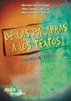 de las palabras a los textos: gramatica del español 9788499210254
